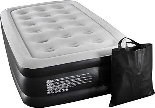 Molino Selbstaufblasend Air Mattress für 1 Personen - Luftmatratze - eingebauter Elektropumpe für Schnelles Aufblasen - Premium Qualität pannensicher, wasserfest, beschädigungsbeständig…