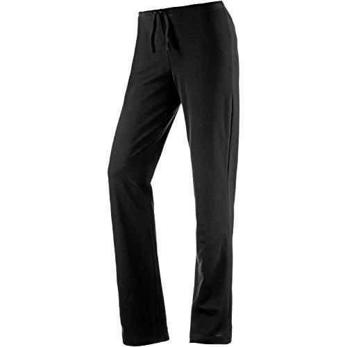 Joy Sportswear Freizeithose Shirley für Damen - Bequeme Jogginghose aus Baumwolle & Stretch-Material | Loose Fit & gerader Schnitt | Sport Hose für Training & Alltag Kurzgröße, 19, Black