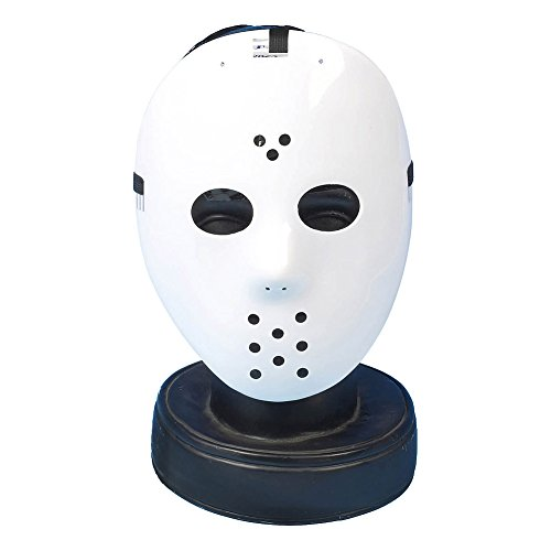 Halloween Hockey Maske (Weiß)