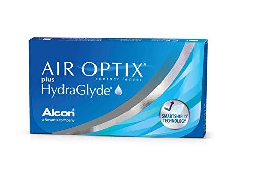Air Optix HydraGlyde Monatslinsen weich, 6 Stück / BC 8.6mm / DIA 14.2 / -5.5 Dioptrien