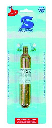 SECUMAR CO2-Ersatzpatrone für Rettungsweste aufblasbar, 43 g