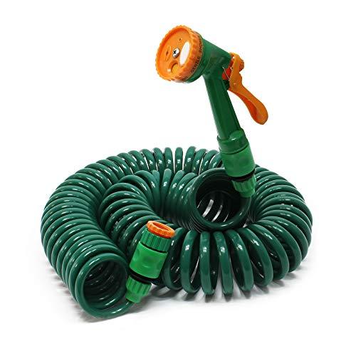 Gartenschlauch Spiralschlauch 15m flexibel Bewässerungsschlauch für Haus und Garten