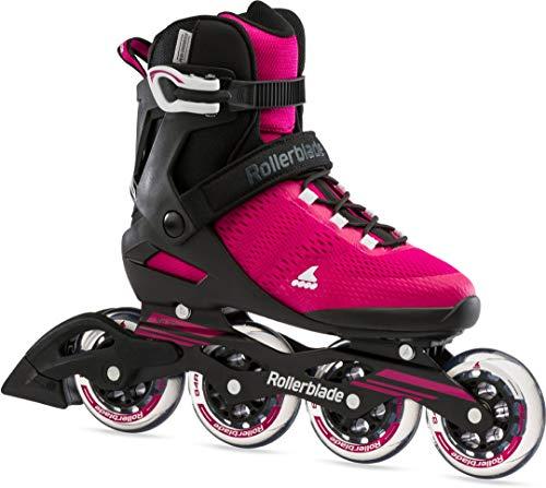 Rollerblade Spark 90 W Inline Skate 2021 Raspberry/Black, 39