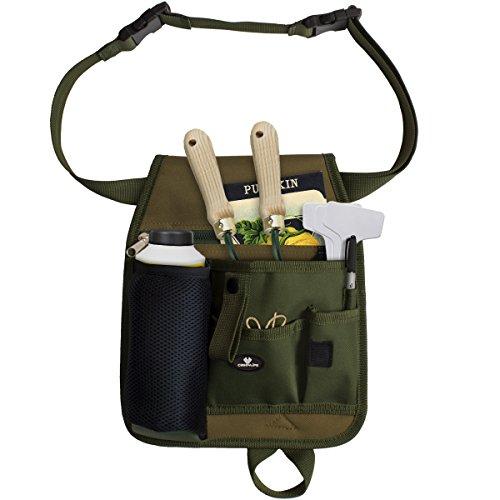 Case4Life Unisex Praktisch Garten Gartenarbeit Florist Taille Werkzeuggürtel Tasche Beutel Halter