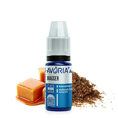 AVORIA – Liquid Aroma Konzentrat 12 ml zum mischen für E Liquid mit neutraler Base | Aromen ohne Nikotin zum selber mischen für E-Zigaretten - Bragger