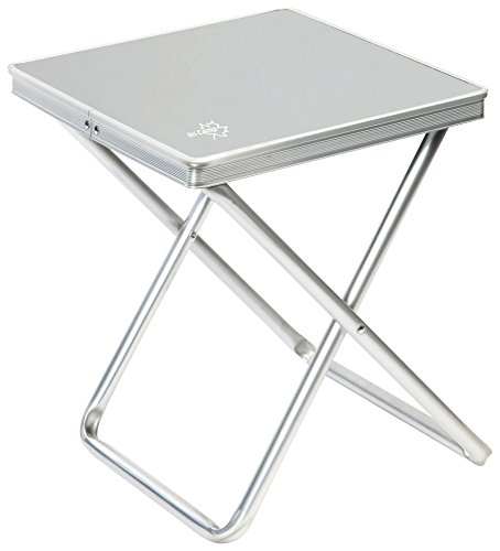 Bo-Camp Mini Alu Klapphocker Camping Tisch Angel Hocker Falthocker Sitz klappbar