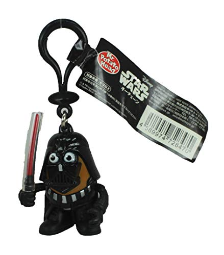 Hot Toys Japan Star Wars Mr Potato Head Darth Vader 6 cm Minifigur Schlüsselanhänger – Darth Tater