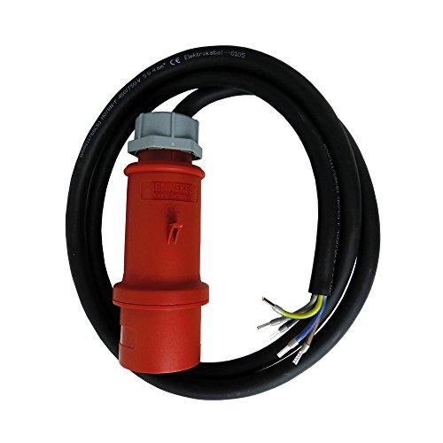 2m CEE Maschinen Anschlussleitung Kabel 32A/400V H07RN-F 5x4mm² 2947