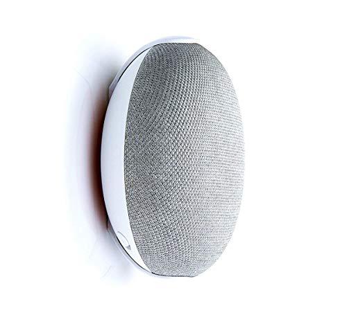 Fstop Labs 2er-Pack Wand-Deckenhalterung Ständer Clip für Google Nest Home Mini Gen 1, Gen 2, rundes Lautsprecherzubehör (weiß) 2er-Pack