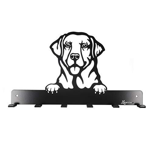 Schicke und praktische Hundegarderobe * Labrador * im Hundedesign XL 450mm Breit-Leinenhalter