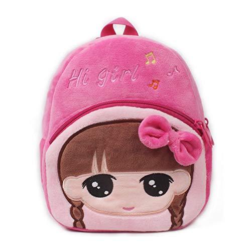 YUIOP Rucksack Niedlich 1-3 Jahre Alte Kinder Schultasche Plüschtier Rucksack Früherziehung Baby Kleine Schultasche Cartoon Kleine Tasche