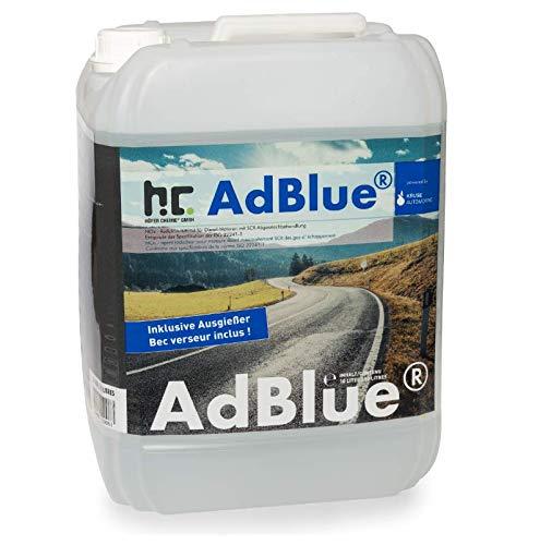 Höfer Chemie - AdBlue® 2 x 10 L - Auto Harnstofflösung von Kruse Automotive verringert Emissionen von Stickstoffoxiden um 90% bei SCR-Systemen