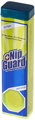 RunGuard Brustwarzenpflaster Nipguards Professionelle Dose mit 10 Paar Pflaster, Green, Einheitsgröße