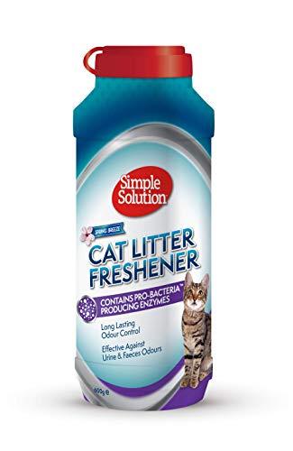 simple solution simple solution 90560-4p Katzentoilette Erfrischer entfernt die Gerüche vollständig, und sorgt für einen frischen Duft.