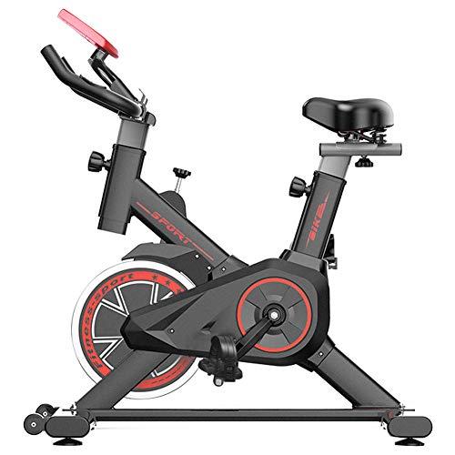 DnKelar Mini Heimtrainer Fahrrad für zuhause, Heim Sitzfahrrad mit Digitaler Monitor, Multifunktionaler Beintrainer Fahrradtrainer mit 6 einstellbare Sitzhöhen, Fitness Bike 100 kg Belastbar