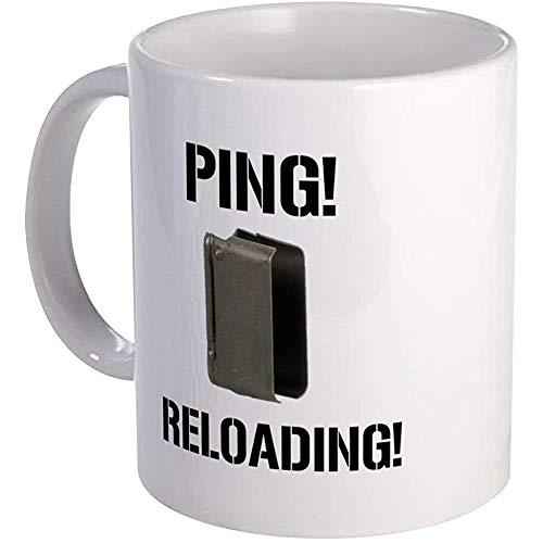 M1 Garand Enbloc Clip Tasse Einzigartige Kaffeetasse, Kaffeetasse