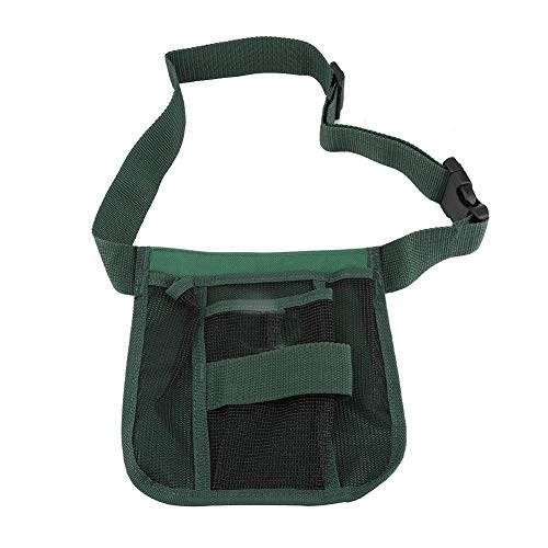 Nancunhuo Gartenwerkzeuggürtel-Plant Basic Gartenwerkzeuggürtel Gartenwerkzeug Aufbewahrungsgürtel mit Taschen