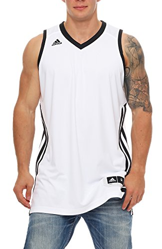 Basketball Sleeveless E Kit2.0 JER Weiß Schwarz WHITE/BLACK 3XT