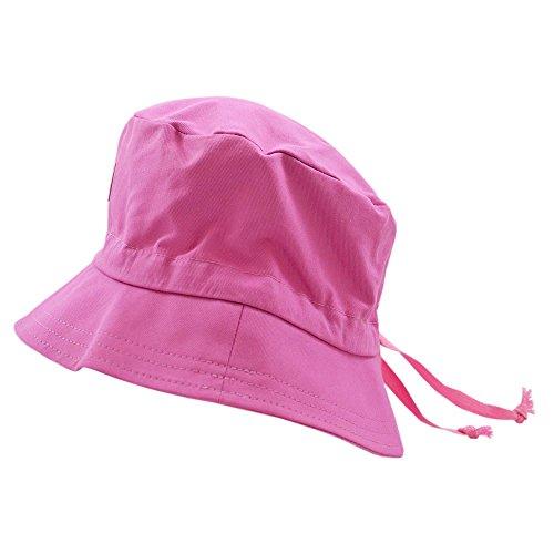 PICKAPOOH Fischerhut mit UV-Schutz Baumwolle, Malve Gr. 58