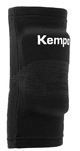 Kempa Kinder Gepolstert -Paar Ellbogenbandage, Schwarz, XXS