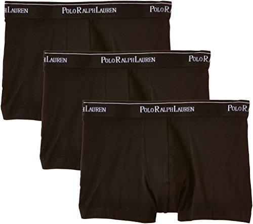 Polo Ralph Lauren Herren Classic Boxershorts, Schwarz (3Pk Polo Blk/Polo Blk/Polo Blk 002), XX-Large (3er Pack)