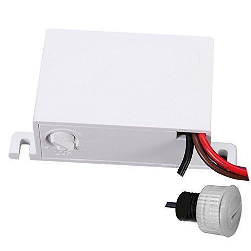 Maclean MCE34 Dämmerungssensor, Dämmerungsschalter, mit externen Sensor für Außenbereich, max. 2300W und IP54