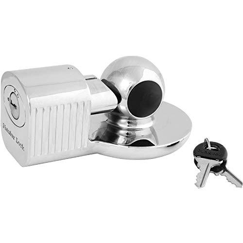 Master Lock 377EURDAT Anhängerschloss [Universal Anhängersicherung] [Wetterfest] - Diebstahlschutz für Anhänger, Wohnwagen