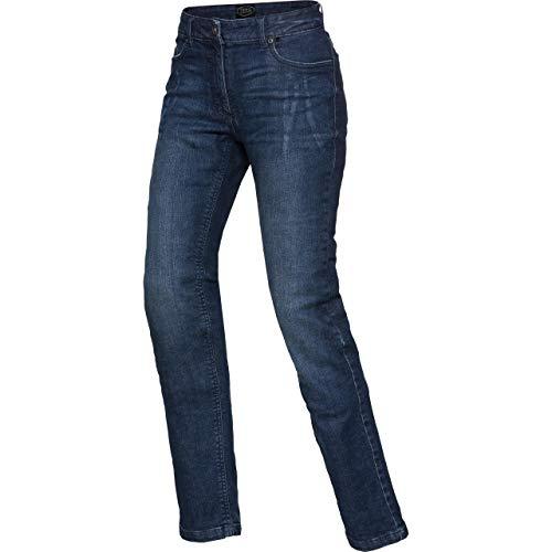 Spirit Motors Motorrad Jeans Motorradhose Motorradjeans Damen Aramid-/Baumwolljeans Stretch 3.0 blau 34/32, Chopper/Cruiser, Ganzjährig, Textil