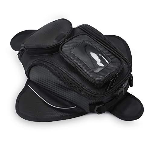 WILDKEN Motorrad Tankrucksäcke Wasserdicht Tank Tasche Beutel Umhängetasche Motorradtasche mit Starkem Magnetischem für Motorrad Motorcross (4L)