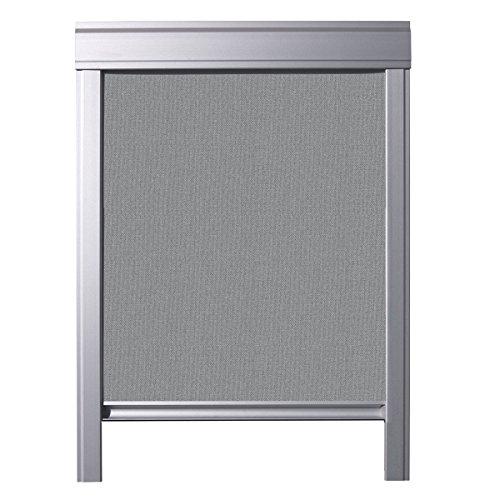 ITZALA Einfaches Verdunkelungsrollo für VELUX Dachfenster, S08, 608, Grau