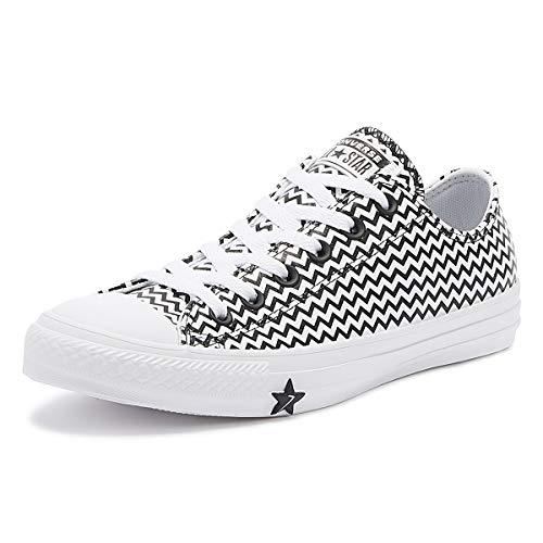 Converse Chuck Taylor All Star Ox Damen Sneaker Schwarz