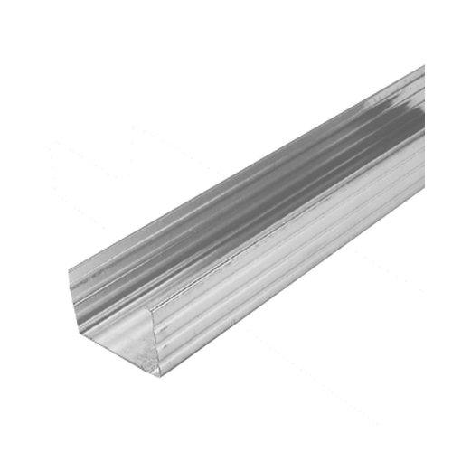 C- Ständerprofil 50mm 16 Stäbe je 2,6m insgesamt 41,6m CW Ständerwerkprofil Trennwandprofil Trockenbau Profil