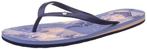 Roxy Roxy Bermuda Flip Flops Damen Zehentrenner, Blau (Blue Grass), 36 EU