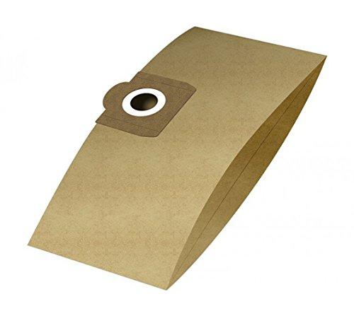 6 Staubsaugerbeutel passend für Einhell INOX 1250 | Staubbeutel aus 2-lagigem Papier | von Staubbeutel-Discount