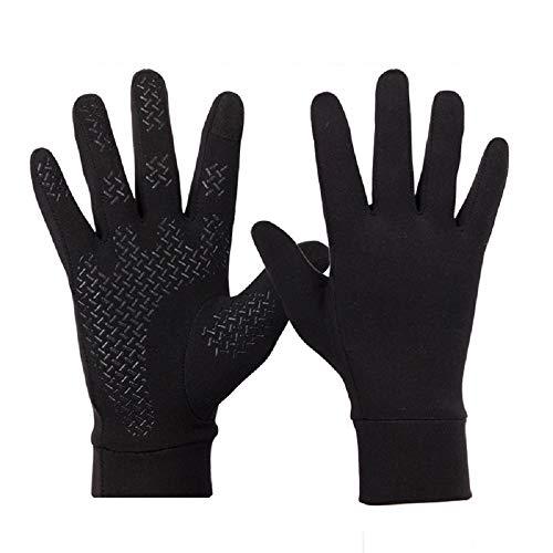 Sykooria Touchscreen Unisex Fahrrad Handschuhe Herren Damen Winterhandschuhe Sporthandschuhe Vollfinger Radhandschuhe Anti-Rutsch Winddicht Rutschfeste