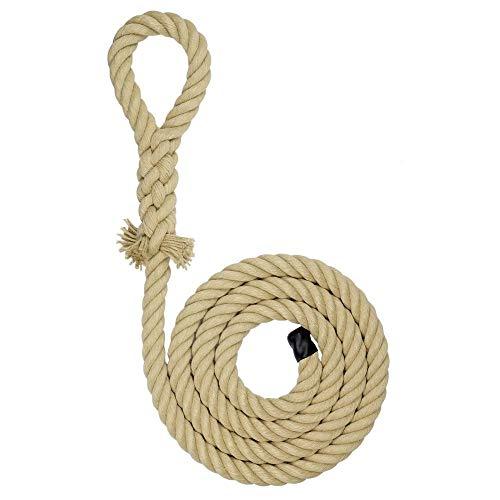 Kanirope® Kletterseil KIDPRO aus Polyhanf mit Augspleiß Länge 3m