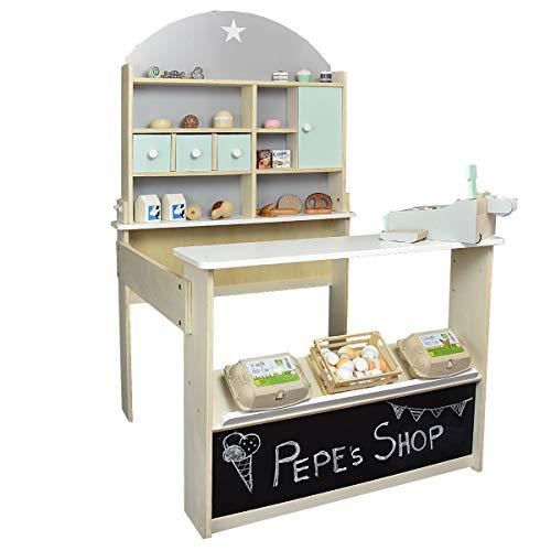 roba Kaufladen Peppermint aus Holz - Kinderkaufladen, Kaufmannsladen