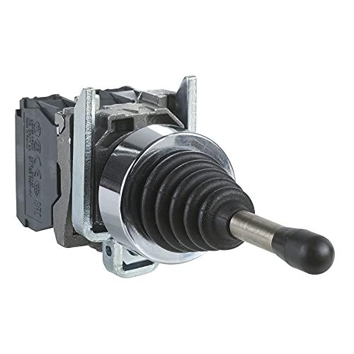 Schneider XD4PA24 Joystick, 4 Richtungen, Ø 22, 5 Stellungen, m. Rückzug Nullstellung