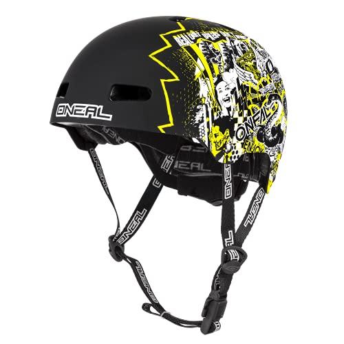 O'NEAL   Mountainbike-Helm   Enduro All-Mountain   Lüftungsöffnungen zur Belüftung & Kühlung, Größenverstellsystem, Zone Flex-Technologie  Helmet Dirt Lid ZF Rift   Erwachsene   Neon-Gelb   Größe M/L