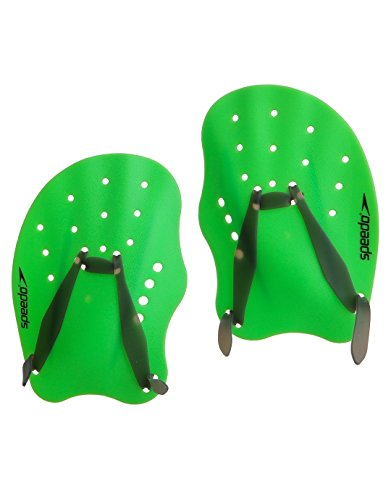 Speedo Tech Paddles - Green Size Medium
