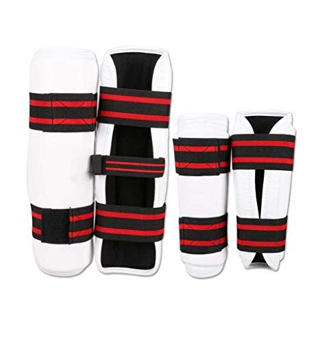 JXS-Outdoor Taekwondo Armschutz Unterarmschützer Leggings - Karate Sanda Kampfsport Protektoren,XL