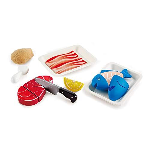 Hape E3155 - Fisch & Fleisch Set, Küchenspielzeug