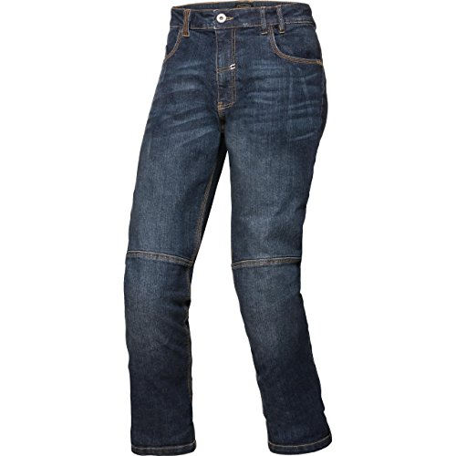 Spirit Motors Motorrad Jeans Motorradhose Motorradjeans Aramid-/Baumwolljeans mit Stretch 1.0 blau 32/34, Herren, Chopper/Cruiser, Ganzjährig, Textil
