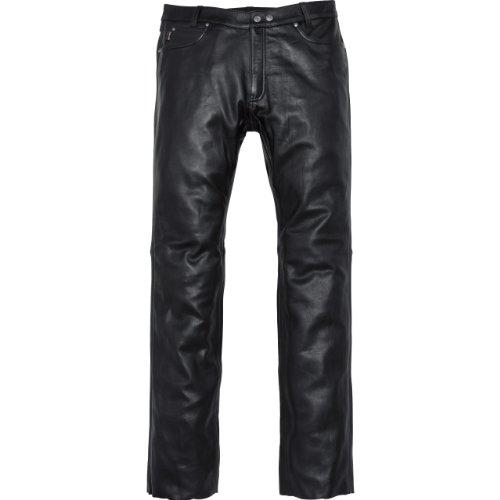 Spirit Motors Motorrad Jeans Motorradhose Motorradjeans Klassik Lederhose 2.0 schwarz 58, Herren, Chopper/Cruiser, Ganzjährig