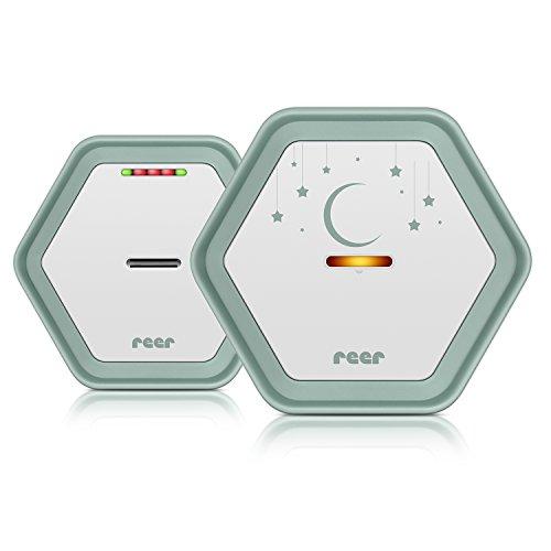 Reer 50110 BeeConnect, Digitales Babyphone + Gratis LED-Nachtlicht