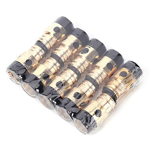 Kontaktspitzenhalter Schweißpistole Zubehör 10 Stück für MIG MMA aus hochwertigem für gasgeschützten Schweißbrenner