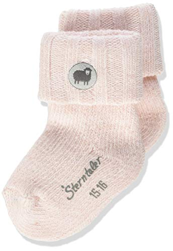 Sterntaler Baby-Mädchen Söckchen Socks, Zartrosa, 16