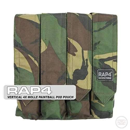 Rap4 Vertical 4X MOLLE P90 Paintball Pod Pouch