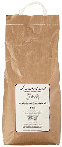Lunderland - Gemüse Mix, getreidefrei, 5 kg, 1er Pack (1 x 5 kg)