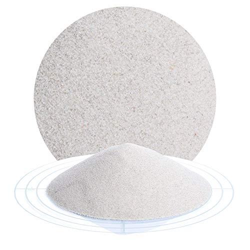 Fugensand natur 25 kg; grauer, feiner Quarzsand in verschiedenen Körnungen von Schicker Mineral, speziell geeignet für enge Fugen, Einkehrsand für Pflasterfugen (0,1-0,3 mm)